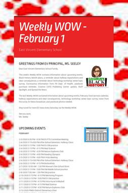 Weekly WOW - February 1