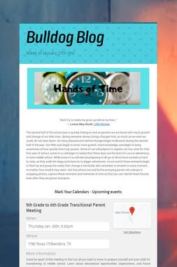 Bulldog Blog