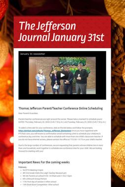 The Jefferson Journal January 31st