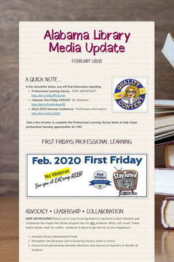 Alabama Library Media Update