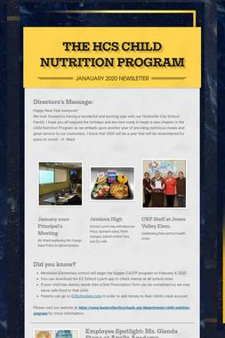 THE HCS CHILD NUTRITION PROGRAM