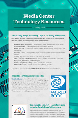 Media Center Technology Resources