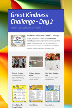 Great Kindness Challenge - Day 2