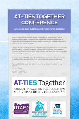 AT-TIES Together Conference