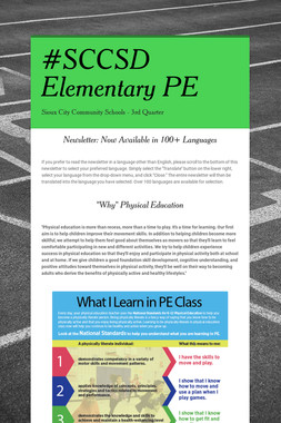 #SCCSD Elementary PE