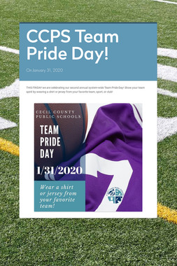 CCPS Team Pride Day!