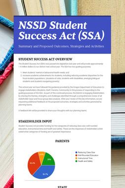 NSSD Student Success Act (SSA)
