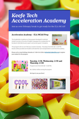 Keefe Tech Acceleration Academy