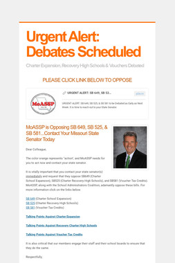 Urgent Alert: Debates Scheduled