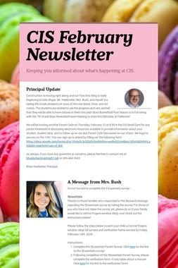 CIS February Newsletter