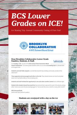 BCS Lower Grades on ICE!