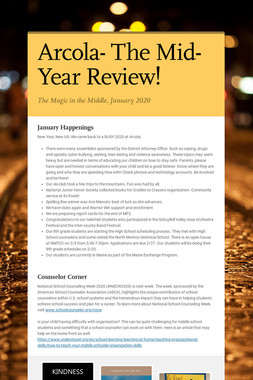 Arcola- The Mid-Year Review!