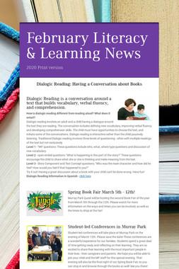 February Literacy & Learning News