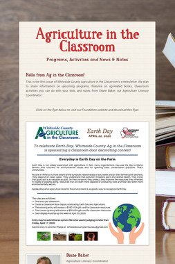 Agriculture in the Classroom