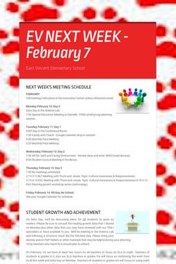 EV NEXT WEEK - February 7