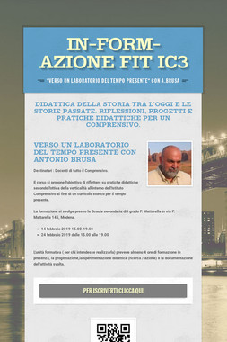 IN-FORM-AZIONE FIT IC3