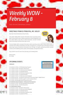 Weekly WOW - February 8