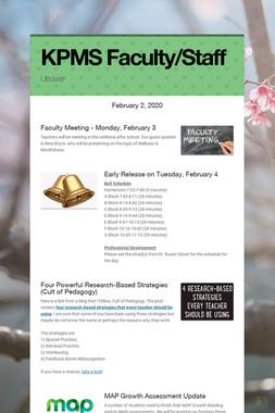 KPMS Faculty/Staff