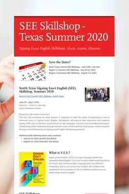SEE Skillshop - Texas Summer 2020