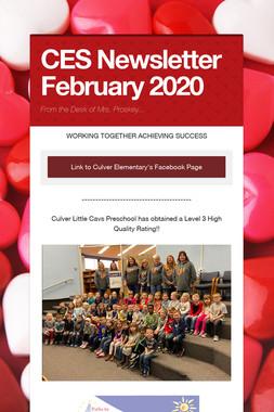 CES Newsletter February 2020