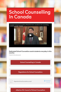 School Counselling In Canada