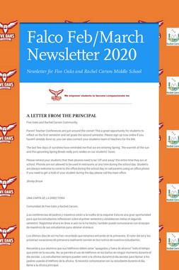Falco Feb/March Newsletter  2020