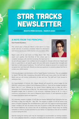 Star Tracks Newsletter