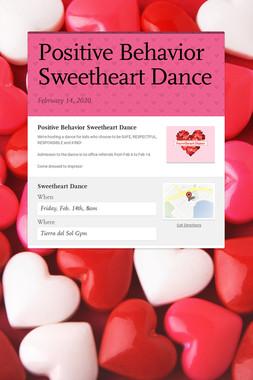 Positive Behavior Sweetheart Dance