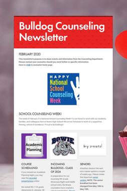 Bulldog Counseling Newsletter