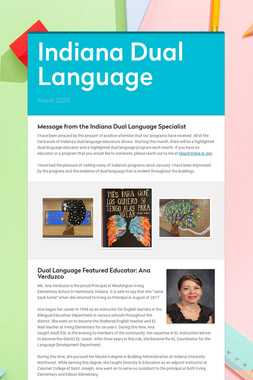 Indiana Dual Language