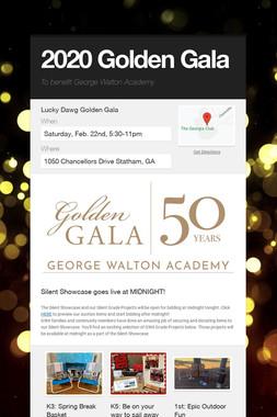 2020 Golden Gala