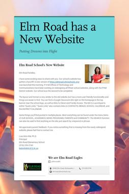 Elm Road has a New Website