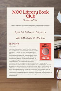 NCC Library Book Club