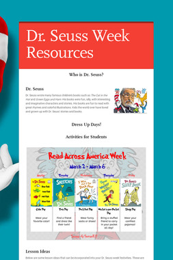 Dr. Seuss Week Resources