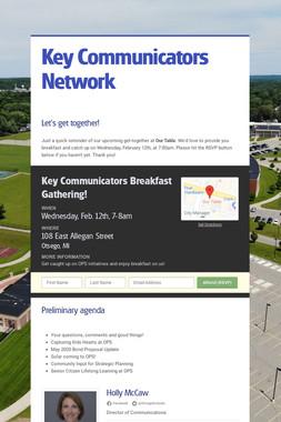 Key Communicators Network