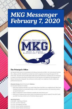 MKG Messenger February 7, 2020