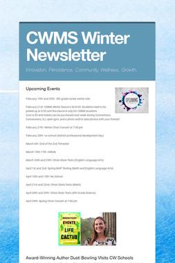 CWMS Winter Newsletter