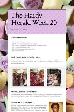 The Hardy Herald Week 20