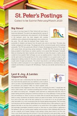 St. Peter's Postings