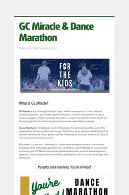 GC Miracle & Dance Marathon