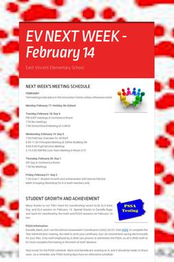 EV NEXT WEEK - February 14