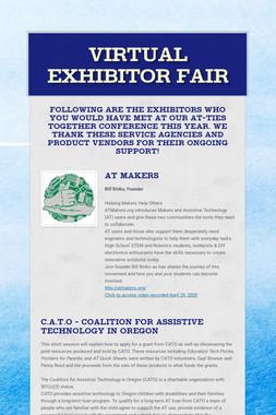 Virtual Exhibitor Fair