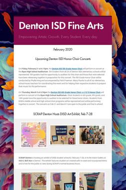 Denton ISD Fine Arts