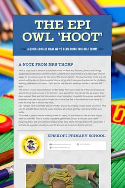 The Epi Owl 'Hoot'