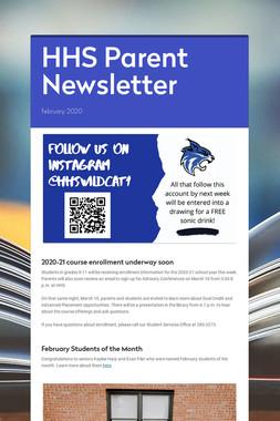 HHS Parent Newsletter