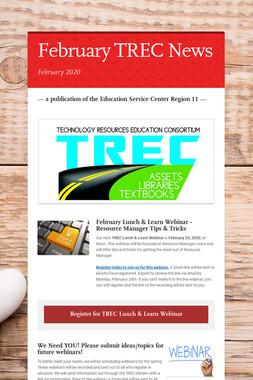 February TREC News