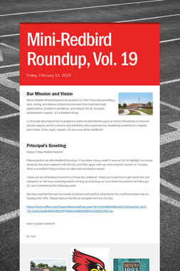 Mini-Redbird Roundup, Vol. 19