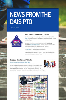 NEWS FROM THE DAIS PTO