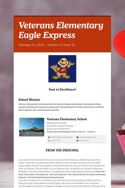Veterans Elementary Eagle Express