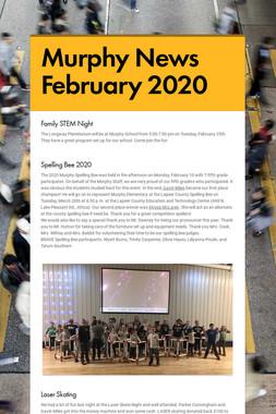 Murphy News February 2020